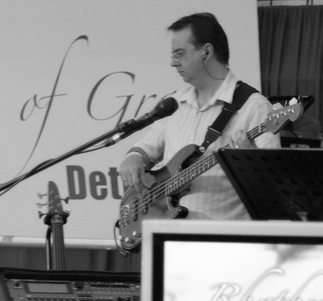 Playing Bass at a Conference